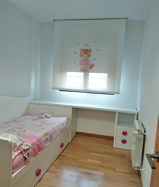 Dise o de habitaciones juveniles e infantiles en madrid - Diseno habitaciones infantiles ...